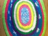 T-Shirt Yarn CrochetRug