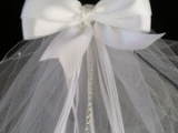 A First Communion Veil for my Niece