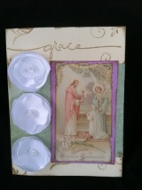 A First Communion Card